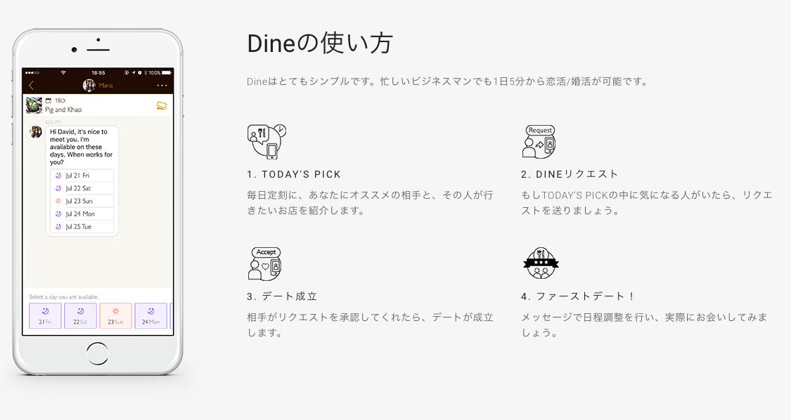 Dine(ダイン)の運営会社は?